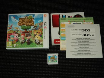 3DS Animal Crossing New Leaf Svenskt!