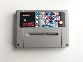 Harleys Humongous Adventure - Super Nintendo SNES - PAL
