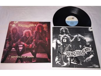 "Destruction LP 1984 ""Sentence Of Death"" Steamhammer Records - Svårhittad!"