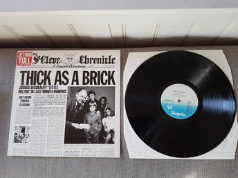 Jethro Tull- Thick as a brick Chrysalis Germany Repres