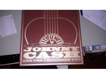 JOHNNY CASH And the Tennessee Two - LP-BOX The SUN Years CHARLY RECORDS 1984 UK