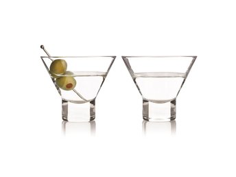 2-pack Raye Stemless Martiniglas 22cl, True