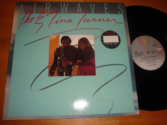 IKE & TINA TURNER - AIRWAVES LP 1978