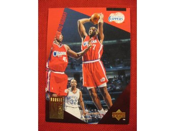 LAMOND MURRAY - ROOKIE STANDOUTS UPPER DECK 1995 - BASKET