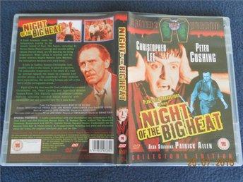 NIGHT OF THE BIG HEAT (1967) UK DVD OOP Christopher Lee, Peter Cushing - Gävle - NIGHT OF THE BIG HEAT (1967) UK DVD OOP Christopher Lee, Peter Cushing - Gävle
