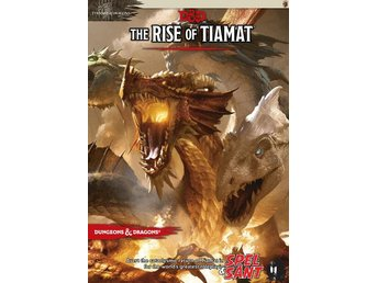 Dungeons & Dragons The Rise of Tiamat 5th Edition (Inbunden)