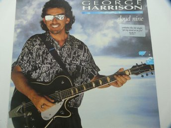 "George Harrison vinyl ""Cloud Nine"", från 1987. Dark Horse Records."
