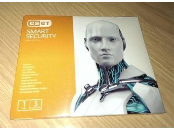 ESET Smart Security 7 Antivirus, 3 PC, 1 Års Licens - NYTT!