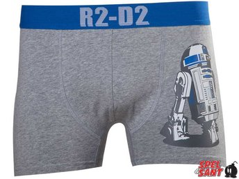 Star Wars R2-D2 Boxershorts Grå (Medium)