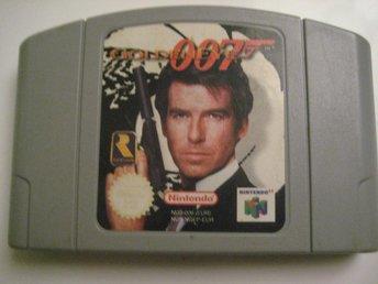 007 Golden Eye - N64 - åhus - 007 Golden Eye - N64 - åhus