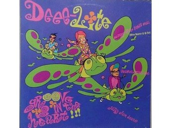 Deee-Lite title* Groove Is In The Heart / What Is Love? Disco,House US 12""