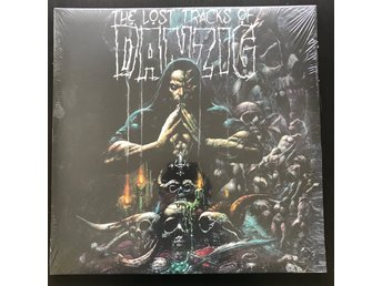 DANZIG The Lost Tracks Of Danzig 2LP Lila/Svart VINYL Misfits Samhain
