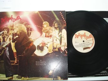 NEW YORK DOLLS LP 1974