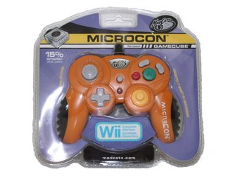 MadCatz MicroCon Gamecube Controller (Orange)