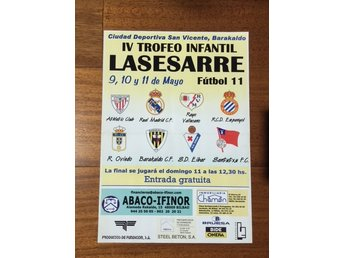 FOOTBALL AFFICHE from SPAIN.