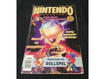 Nintendo Magasinet Nr 7-8 1993 inkl. Power Player