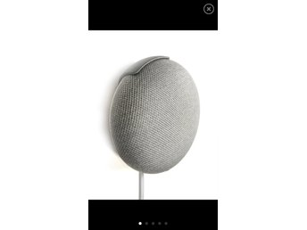 Google home mini väggfäste (Svart)