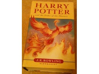 HARRY POTTER AND THE ORDER OF THE PHOENIX - J K ROWLING _ BLOOMSBURY