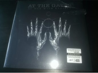 At The Gates - At War With Realitt Lp. Silver vinyl nr160/400