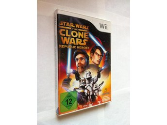 Wii: Star Wars: The Clone Wars - Republic Heroes