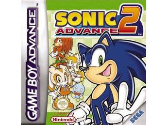 Sonic Advance 2 - Gameboy Advance - Varberg - Sonic Advance 2 - Gameboy Advance - Varberg