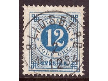 "F 32. 12 öre, lyxstämplad ""Blidsberg 2.12 1884"" - Asarum - F 32. 12 öre, lyxstämplad ""Blidsberg 2.12 1884"" - Asarum"