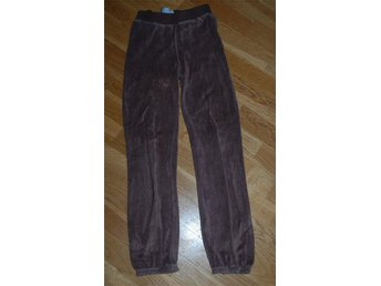 Meandi bruna Puffy velour pants byxor 134/140 Me&I