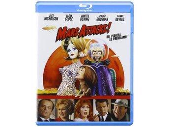 MARS ATTACKS! Blu-ray Svensk text! - Tumba - MARS ATTACKS! Blu-ray Svensk text! - Tumba