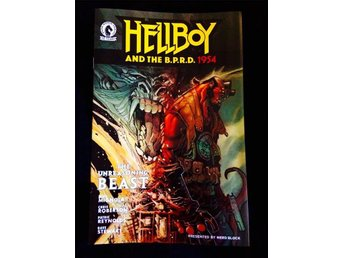 Hellboy Serietidning (Comic Block Exclusive)
