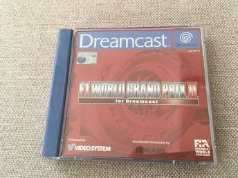 F1 World Grand Prix - Sega Dreamcast