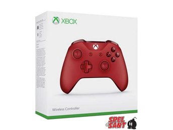 Microsoft Xbox One Wireless Langley Controller Röd