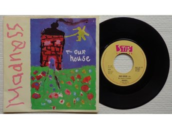 """MADNESS 'Our House' 1982 Norwegian 7"""", VERSION 1 - Bröndby - MADNESS 'Our House' 1982 Norwegian 7"""", VERSION 1 - Bröndby"""