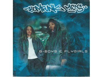 BOMFUNK MC -B-BOYS & FLYGIRLS  (CD MAXI/SINGLE )