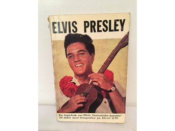 ELVIS PRESLEY bok 1960 tals Williams förlag