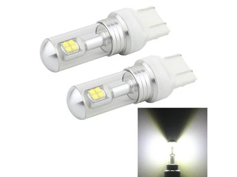 LED Bromsljus 7443 40W 800 LM 6000K - 2Pack