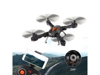 Florld F12-W Camera Drone - 2MP Camera, WiFi, FPV, App Support, Air Pressure Alt