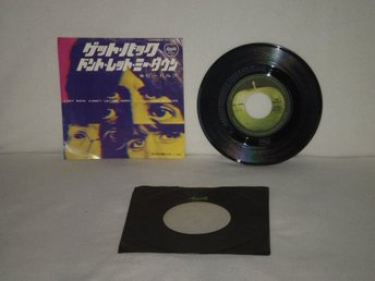 The Beatles  -  Get Back         JAPAN PRESS  -  EXC !!