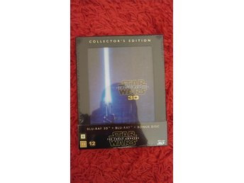 Star wars the force awakens (3D) Blueray collectors edition (Inplastad ny)