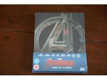 Avengers: Age of Ultron 3D (Includes 2D Version) - Exclusive Limited Edition