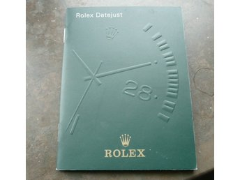 2005 Rolex Datejust booklet