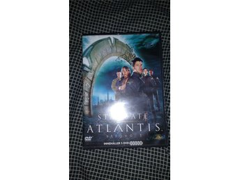Stargate Atlantis , säsong 1 , Dvdbox , science fiction , fint skick !