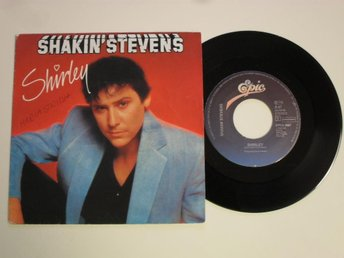 "SHAKIN' STEVENS - SHIRLEY (Epic 7"" 1982 Holland)"