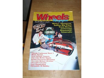 WHEELS NR 6 1988 CORVETTE -57 , THUNDERBIRD- 56