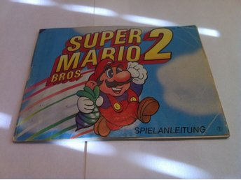 NES: Manualer: Super Mario Bros. 2 (II) (End. manual -Tysk)
