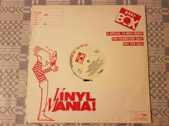 "Randy Andy - The Motor Song 12"" Beat Box Promo BB 8147"