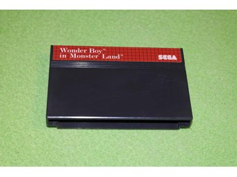 Wonder Boy in Monster Land Kassett Sega Master System