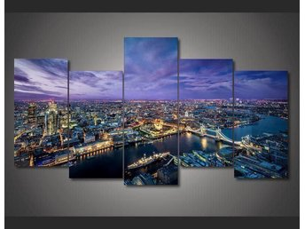 Canvas tavla 5 delad London