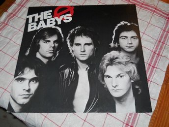 THE BABYS--Union jack.   LP