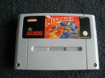 Mega Man 7 SNES Super Nintendo Game MegaMan