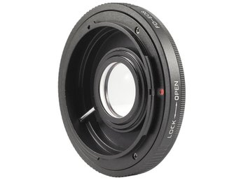 AF Confirm Canon FD Lens to Canon EOS EF mount / With Glass - Trollhättan - AF Confirm Canon FD Lens to Canon EOS EF mount / With Glass - Trollhättan